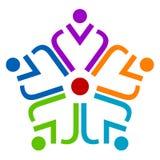 ομαδική εργασία λογότυπων Στοκ Φωτογραφία