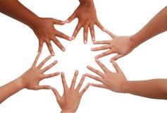 ομαδική εργασία ομάδων πνευμάτων χεριών συντονισμού Στοκ φωτογραφία με δικαίωμα ελεύθερης χρήσης