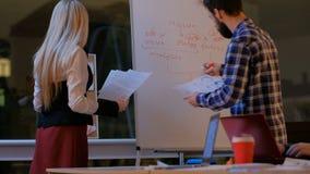 Ομαδική εργασία προγραμματισμού στρατηγικής επιχειρησιακής συνεδρίασης φιλμ μικρού μήκους