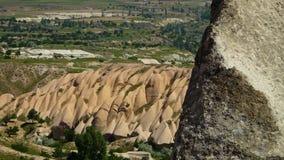 Ομαλοί σχηματισμοί βράχου στην επαρχία απόθεμα βίντεο