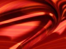Ομαλό κόκκινο λαμπρό fractal στοκ εικόνα