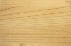Ομαλή μπεζ πλαστή ξύλινη σύσταση τυπωμένων υλών Στοκ Φωτογραφία