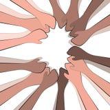 Ομαδική εργασία και ενότητα Στοκ εικόνες με δικαίωμα ελεύθερης χρήσης