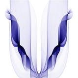Ομαλό αφηρημένο συνόρων σύγχρονο φουτουριστικό δροσερό σχεδιάγραμμα υποβάθρου κυμάτων μαλακό διαστιγμένο Στοκ Εικόνες