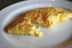 ομελέτα αυγών τυριών Στοκ Φωτογραφία