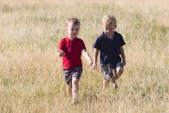 ομιλία αγοριών Στοκ εικόνες με δικαίωμα ελεύθερης χρήσης