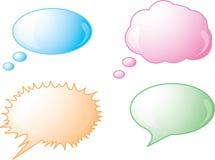 ομιλία εικονιδίων φυσαλίδων απεικόνιση αποθεμάτων