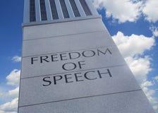 ομιλία ελευθερίας Στοκ Φωτογραφίες