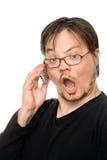 ομιλία κινητών τηλεφώνων Στοκ Εικόνες