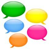 ομιλία κουμπιών Στοκ εικόνα με δικαίωμα ελεύθερης χρήσης