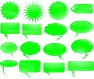 ομιλία φυσαλίδων Στοκ εικόνα με δικαίωμα ελεύθερης χρήσης
