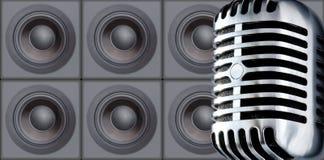 ομιλητές του Mike Στοκ εικόνα με δικαίωμα ελεύθερης χρήσης