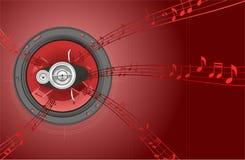 ομιλητής μουσικής διανυσματική απεικόνιση