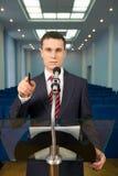 ομιλητής Στοκ Εικόνα