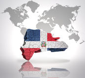 δομινικανή δημοκρατία χαρτών ελεύθερη απεικόνιση δικαιώματος