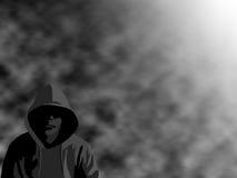 ομιχλώδης κακοποιός Στοκ φωτογραφία με δικαίωμα ελεύθερης χρήσης