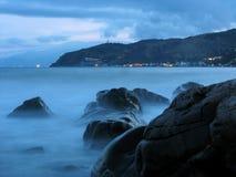 ομιχλώδης κυματωγή Στοκ εικόνα με δικαίωμα ελεύθερης χρήσης