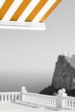 ομιχλώδης όψη πρωινού Στοκ φωτογραφίες με δικαίωμα ελεύθερης χρήσης