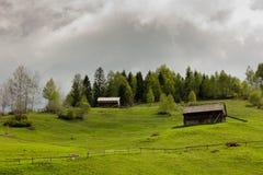 Ομιχλώδες Moieciu Στοκ φωτογραφίες με δικαίωμα ελεύθερης χρήσης