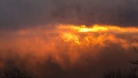 ομιχλώδης στην πυρκαγιά στοκ εικόνες με δικαίωμα ελεύθερης χρήσης