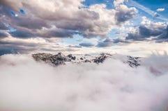 ομιχλώδη βουνά Στοκ εικόνα με δικαίωμα ελεύθερης χρήσης