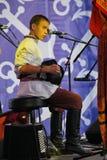 Ομιλία της ρωσικής λαϊκής ορχήστρας του inconnu συνόλων Στοκ φωτογραφία με δικαίωμα ελεύθερης χρήσης