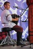Ομιλία της ρωσικής λαϊκής ορχήστρας του inconnu συνόλων Στοκ Φωτογραφίες