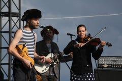 Ομιλία της ρωσικής λαϊκής ορχήστρας του otava συνόλων yo Στοκ φωτογραφίες με δικαίωμα ελεύθερης χρήσης