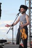 Ομιλία της ρωσικής λαϊκής ορχήστρας του otava συνόλων yo Στοκ Εικόνες