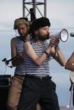 Ομιλία της ρωσικής λαϊκής ορχήστρας του otava συνόλων yo Στοκ εικόνα με δικαίωμα ελεύθερης χρήσης
