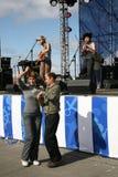 Ομιλία της ρωσικής λαϊκής ορχήστρας του otava συνόλων yo Στοκ Φωτογραφία