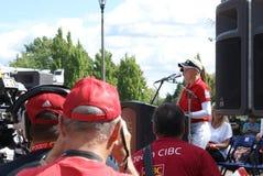 Ομιλία Hometown αδελφών Henderson Στοκ Εικόνα