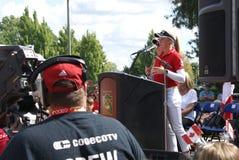 Ομιλία Hometown αδελφών Henderson Στοκ Εικόνες