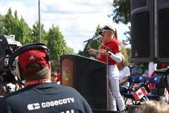Ομιλία Hometown αδελφών Henderson Στοκ Φωτογραφία