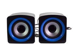 Ομιλητές υπολογιστών PC Στοκ εικόνα με δικαίωμα ελεύθερης χρήσης