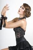 ομορφιάς κορδέλλα χεριώ&nu στοκ εικόνες με δικαίωμα ελεύθερης χρήσης