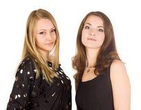 ομορφιά δύο γυναίκα Στοκ φωτογραφία με δικαίωμα ελεύθερης χρήσης