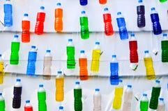 Ομορφιά και ζωηρόχρωμος του νερού στα μπουκάλια Στοκ φωτογραφία με δικαίωμα ελεύθερης χρήσης