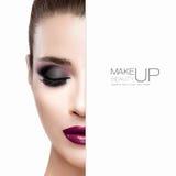 Ομορφιά και makeup έννοια Στοκ Εικόνα