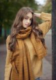 Ομορφιά μόδας φθινοπώρου Στοκ Φωτογραφία