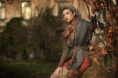 ομορφιά ξανθή Στοκ εικόνες με δικαίωμα ελεύθερης χρήσης