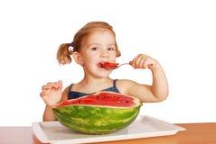 ομορφιά που τρώει το κορί&ta στοκ φωτογραφία με δικαίωμα ελεύθερης χρήσης