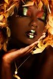 Ομορφιά σοκολάτας Στοκ εικόνα με δικαίωμα ελεύθερης χρήσης