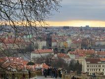 Ομορφιά στην Πράγα Στοκ φωτογραφία με δικαίωμα ελεύθερης χρήσης