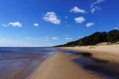 Ομορφιά της λίμνης Peipsi Στοκ φωτογραφία με δικαίωμα ελεύθερης χρήσης