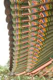 Ομορφιά της κορεατικής παραδοσιακής αρχιτεκτονικής Στοκ φωτογραφίες με δικαίωμα ελεύθερης χρήσης