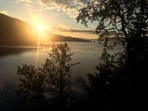 Ομορφιά της Νορβηγίας Στοκ Εικόνες
