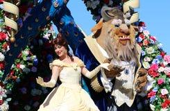 Ομορφιά της Disney και το κτήνος Στοκ Φωτογραφία