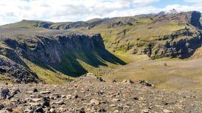 Ομορφιά τοπίων της Ισλανδίας στην Ευρώπη Στοκ Εικόνα