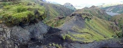 Ομορφιά τοπίων της Ισλανδίας στην Ευρώπη Στοκ Φωτογραφία